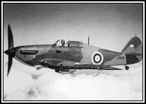 An early model Hurricane before squadron letters were allocated